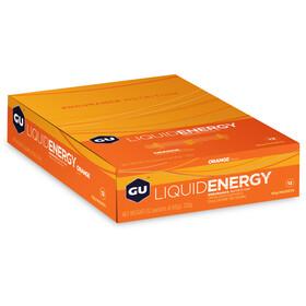 GU Energy Liquid Energy Gel 12 x 60g, Orange